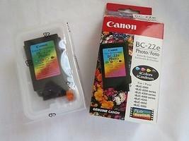 Canon BC-22e Photo 4 Color BJ Ink InkJet NIB W OEM 2017,bjc-2000 - $11.65