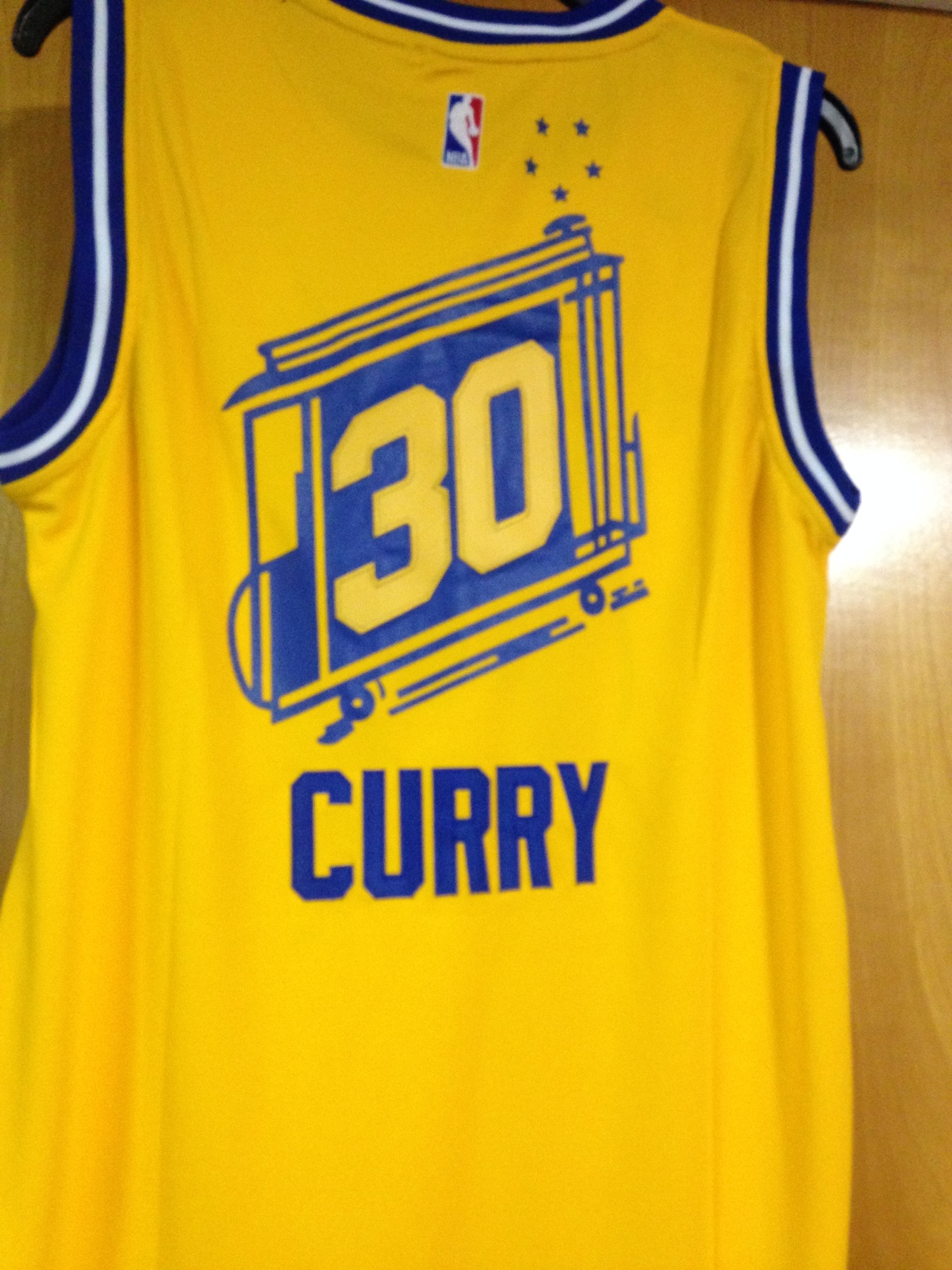 Stephen Curry Hardwood Classics Throwback Jersey image 4