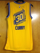 Stephen Curry Hardwood Classics Throwback Jersey image 5