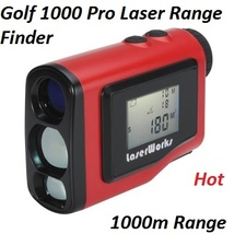 Golf 1000 Pro Laser Range Finder - 1000m Range - 1.8 Inch LCD Screen - E... - $249.30