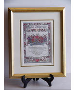 United in Marriage Calligraphy Print by Lynn Norton Parker  - $9.89