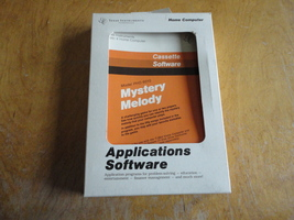 TEXAS INSTRUMENTS TI 99/4A Mystery Melody cassette game tested boxed man... - $9.99