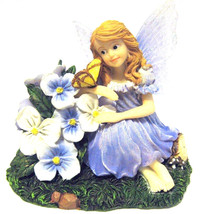 "Boyds Wee Folkstone Faerie ""Violet..Gentle Gestures Butterfly"" #4027340-... - $23.99"