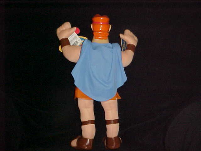 "17"" Disney Hercules Plush Bendable Doll By Applause With Tags Nice"