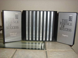 THE ESSENCE OF SUCCESS - Earl Nightingale Conant - 20 CDs + 20 Tapes - M... - $129.88
