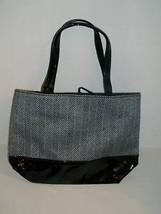 Estee Lauder Purse Makeup Hand Bag Cosmetic BLA... - $10.40