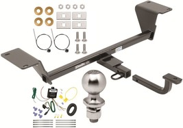 Complete Trailer Hitch Package W/ Wiring Kit Fits 2015-2019 Audi A3 Drawtite New - $221.63