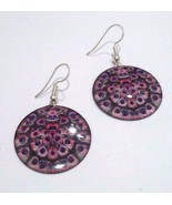 PEACOCK - Contemporary Women Earrings Jewelry Hook Drop Dangle Fashion G... - $4.21