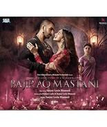 Bajirao Mastani Hindi Audio CD -Ranveer Singh, Deepika, Sanjay Leela ban... - $7.91