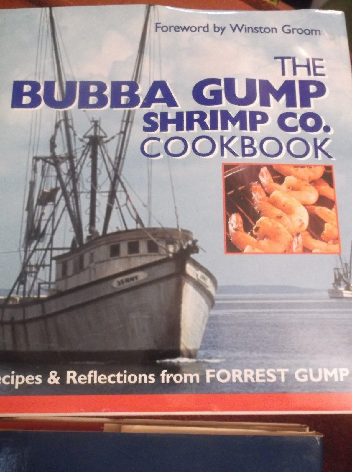 Primary image for Bubba Gump Shrimp Co. Cookbook : Recipes and Reflections from Forrest Gump