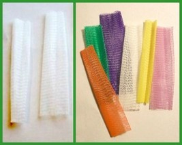 100 Embroidery Thread Nets Clear or Assorted Colors BUY USED NETS & SAVE... - $8.95