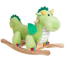 Happy Trails Plush Rocking Dagwood Dragon Kids Children Toy - $62.58