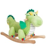 Happy Trails Plush Rocking Dagwood Dragon Kids ... - $62.58