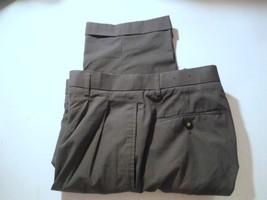 Mens Pants Chereskin Pleated Pants Dark Gray 36 x 32 - $19.79