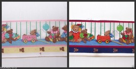 Boyd Bear Party Dress Up  Fabric Boarder Trim Red and Blue - $3.99