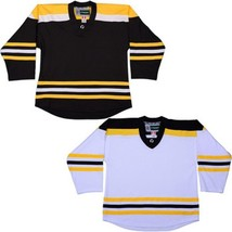 Boston Bruins Customized Hockey Jersey  Nhl Style Replica  W/ Name & Number - $42.13