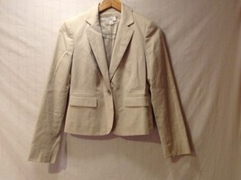 Ann Taylor Loft Women's Light Tan Blazer, Size 4