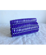Beautiful Ladies Clutch Beaded Purse Women Fashion Elegant Purple Coral ... - $29.69