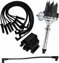 GMC Chevy BBC BB V8 Pro Series R2R Distributor 396 402 454 8mm Spark Plug Kit