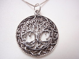 Olive Tree of Life 925 Sterling Silver Pendant - $9.89