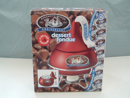 Hershey's 100th Anniversary 2007 Limited Edition Red Kiss Dessert Fondue... - $18.95