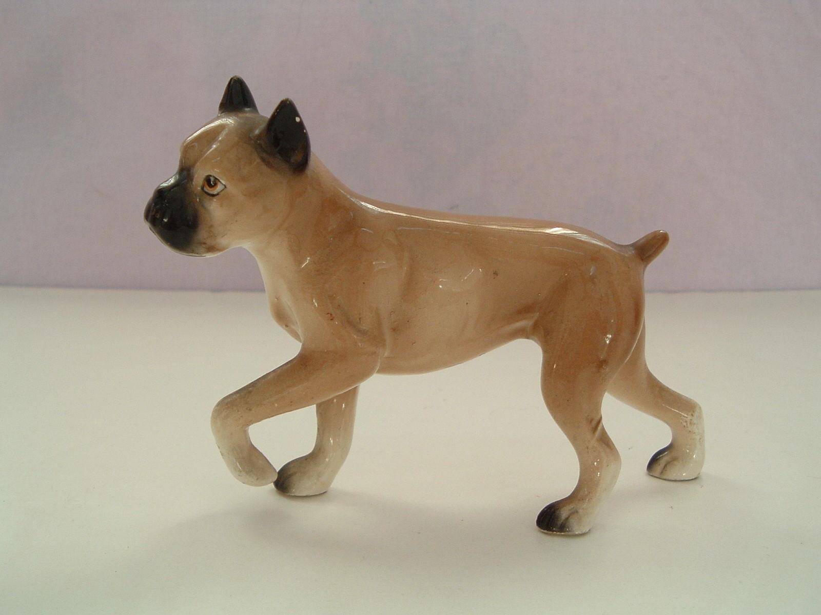 Vintage Nippon Yoko Boeki boxer dog made in Japan - $8.91
