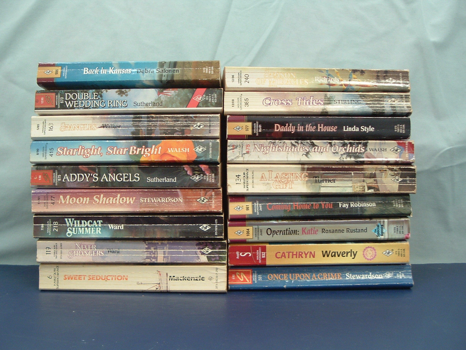 12 BOOK LOT OF HARLEQUIN SPECIAL EDITION ROMANCE PAPERBACKS - FREE SHIPPING!