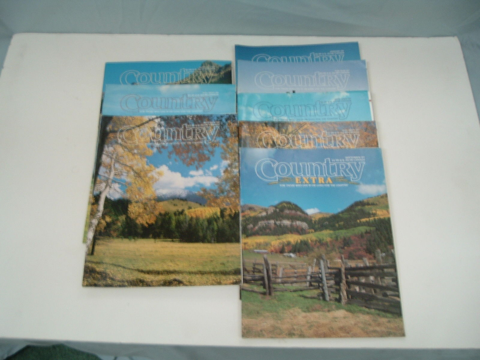 Primary image for 8 back issues of Country magazine 1997, 1998 Free shipping reiman publication 3