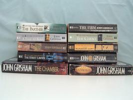 John Grisham legal thriller 10 mixed book lot The client, the partner, t... - $13.06