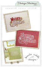 Vintage Christmas cross stitch chart Brenda Riddle Designs - $7.20