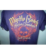 Harley-Davidson Dark Purple T-Shirt XL Myrtle Beach, South Carolina - $20.00