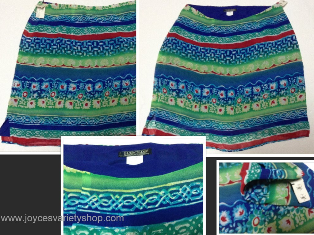 Harolds skirt collage