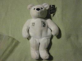 Matt Stairs #12 A's Salvino's Bammers Plush Beanie Baby Bear Issued June 14,1999 - $40.00