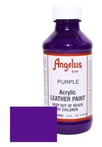 Angelus Leather Paint 4oz-Purple - $3.94