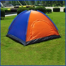 Waterproof Sundome Tent Outdoor 3 Season Two Person Zipper Door Camp Shelter Kit - $79.95