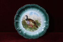 Bavaria Partridge  Game Plate Colorful - $38.86