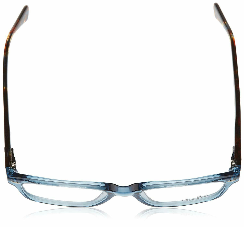 Unisex Ray Ban RX5286 8024 Rectangle Eyeglass Frame - Blue, 51mm image 4