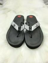 Michael Kors Women  Sandal Size 10 black glitter - $34.20
