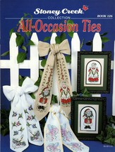 Stoney Creek Leaflet 126 All-Occasion Ties Mr. & Mrs. Santa Halloween St... - $7.95