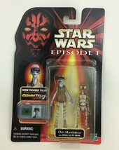 Ody Mandrell Action Figure Commtech Chip Star Wars Episode 1 Hasbro 1998 - $9.85