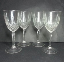 "Cut Crystal Wine Glass 7 oz, set of 4 (6.75"" tall 3"" diameter) - $24.71 CAD"