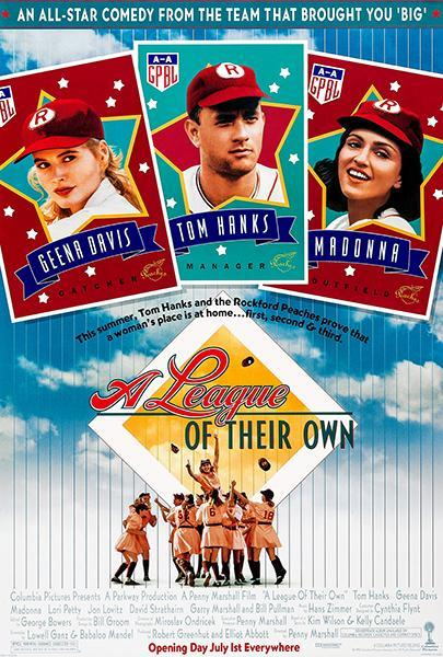 Primary image for A League Of Their Own - 1992 - Movie Poster