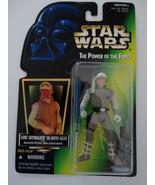 1997 Star Wars POTF Luke Skywalker in Hoth Gear Pistol Lightsaber Action... - $20.00