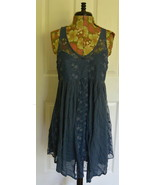 Abercrombie & Fitch Swing Dress XS Lace Blue NWT - $34.95