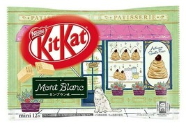 NEW! Nestle KitKat chocolate Mont Blanc cake flavor 12 pcs,2021NEW,from ... - $13.84