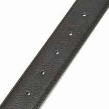 Calvin Klein Men's 35mm Reversible Genuine Leather Harness Buckle Belt 7538796 image 5