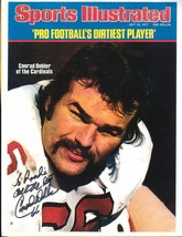 CONRAD DOBLER AUTOGRAPHED SPORTS ILLUSTRATED CARD 8.5 X 11 CARDINALS INS... - £8.85 GBP