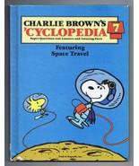 ORIGINAL Vintage 1980 Charlie Brown Cyclopedia #7 Hardcover Book Snoopy - $9.89