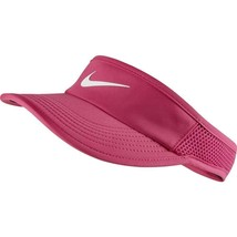 NEW NIKE Women's Featherlight AeroBill Tennis Visor-Vivid Pink 899656-616 - $69.29