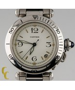 Cartier Pasha #2324 Stainless Steel Automatic 35mm Men's Watch w/ Date - $3,143.25